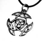 Anhänger Triskele, 925er Silber, Kelten-Knoten, Celtic Knot, Keltisch