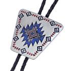 Bolotie Indianer Muster, Southwest Tribal, Bolo Tie, Western Krawatte