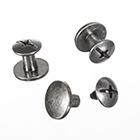 1 Paar Schraub- Nieten Reparaturset für Buckle- Gürtel