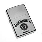 Original Zippo Jack Daniels Old No 7, Satinierter Chrom