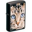 Original Zippo Cats Face, Katze, Matt schwarz, Girls