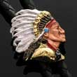 Bolotie Indianer-Häuptling - Indian Chief - Bolo Tie