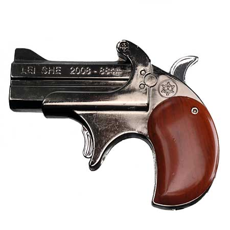 buckle derringer pistole mit feuerzeug laserpointer. Black Bedroom Furniture Sets. Home Design Ideas