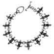 Edelstahl Armband Fleur de Lis königliche Lilie Lilienblüte