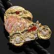 Bolotie Adler & Motorrad - Eagle - Biker - Bolo Tie