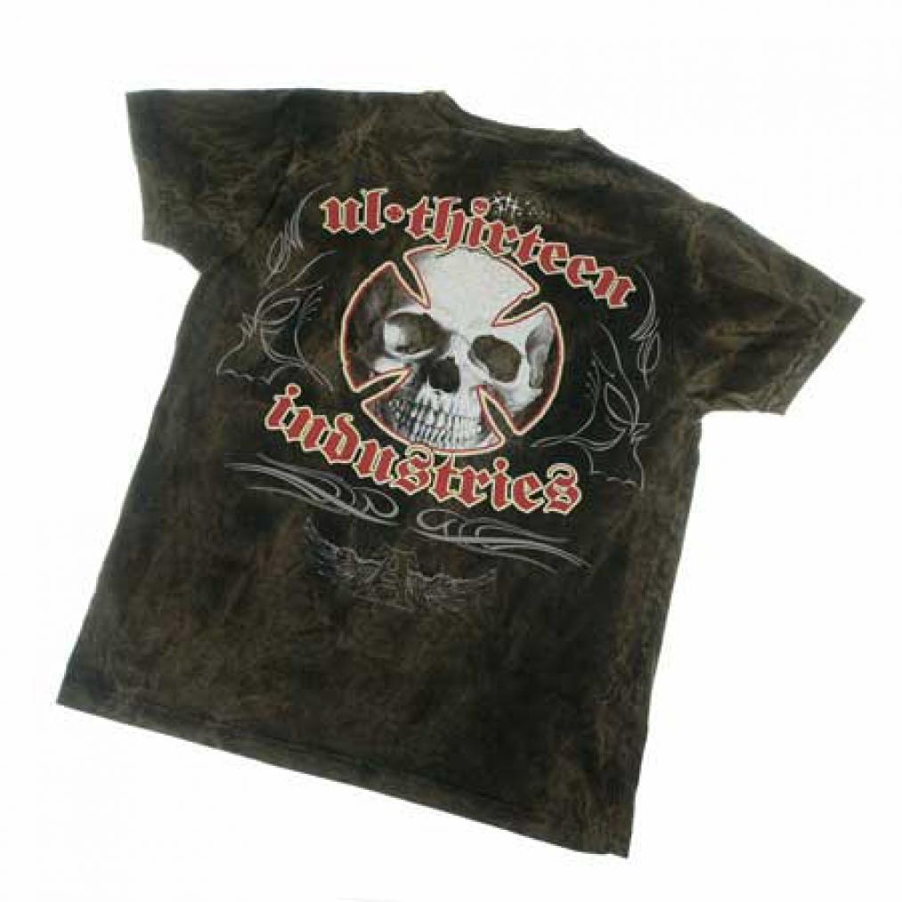 Original t shirt alchemy england ul13 industries skull for Alchemy design t shirts
