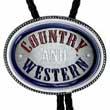Bolo Tie COUNTRY & WESTERN Südstaaten Western Bolotie