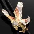 Bolo Tie mit Adler - Seeadler - Bald Eagle - Bolotie