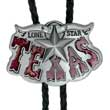 Bolotie Texas Lone Star Western Bolo Tie Western Krawatte