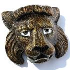 3D-Buckle Löwen-Kopf, Löwin, Löwe, Löwen-Dame, Gürtelschnalle