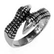 Edelstahl- Ring Drachenklaue Dragon Claw Kralle Gothic