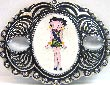Betty Boop Buckle im Country & Western Style