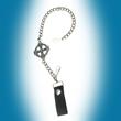 Schlüsselkette Geldbeutelkette Gürtelkette, Keltenkreuz