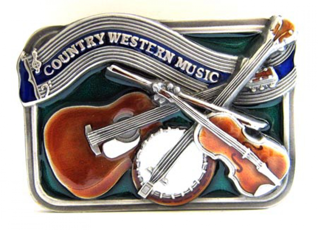 Buckle Country Western Music, with guitar Banjo & Fidel ...