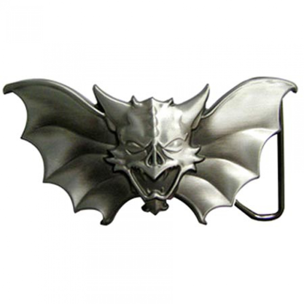 buckle evil bat fledermaus gothic g rtelschnalle ebay. Black Bedroom Furniture Sets. Home Design Ideas