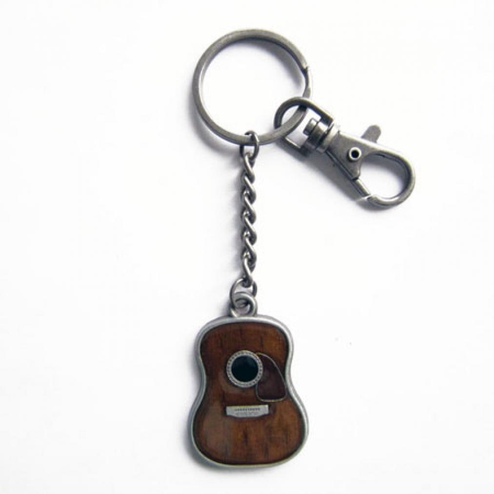 Schlüsselanhänger Gitarre, Guitar, Western