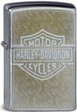 Original Zippo Harley-Davidson Bar and Shield goldfarbener Aufdruck