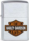 Original Zippo Harley-Davidson Bar & Shield schlichter klassischer Aufdruck