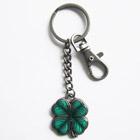 Schlüsselanhänger Vierblättriges Kleeblatt, Glücksbringer, Irland