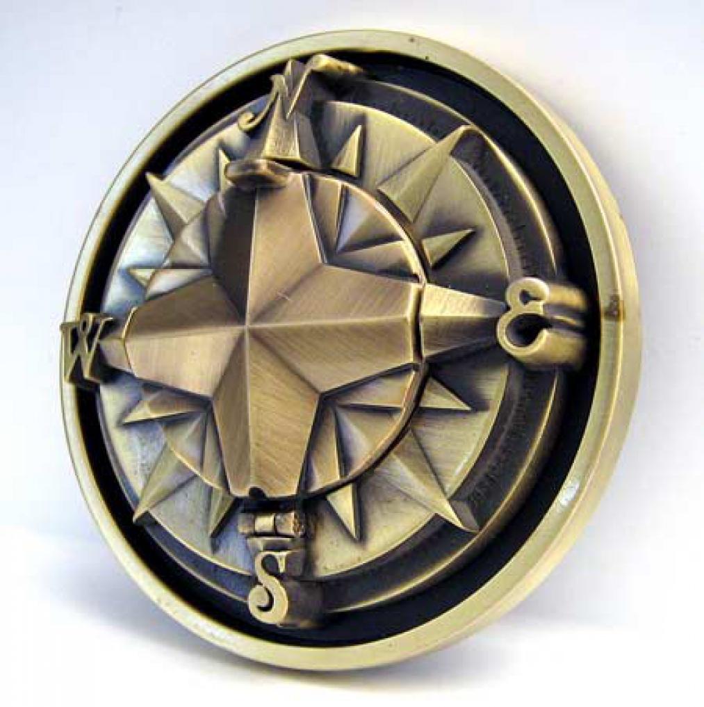 Sailor Tattoos on Kompass Buckle Mit Echtem Kompass  Sailor  Tattoo   Ebay
