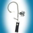 Schlüsselkette, Geldbeutelkette, Gürtelkette, Totenkopf