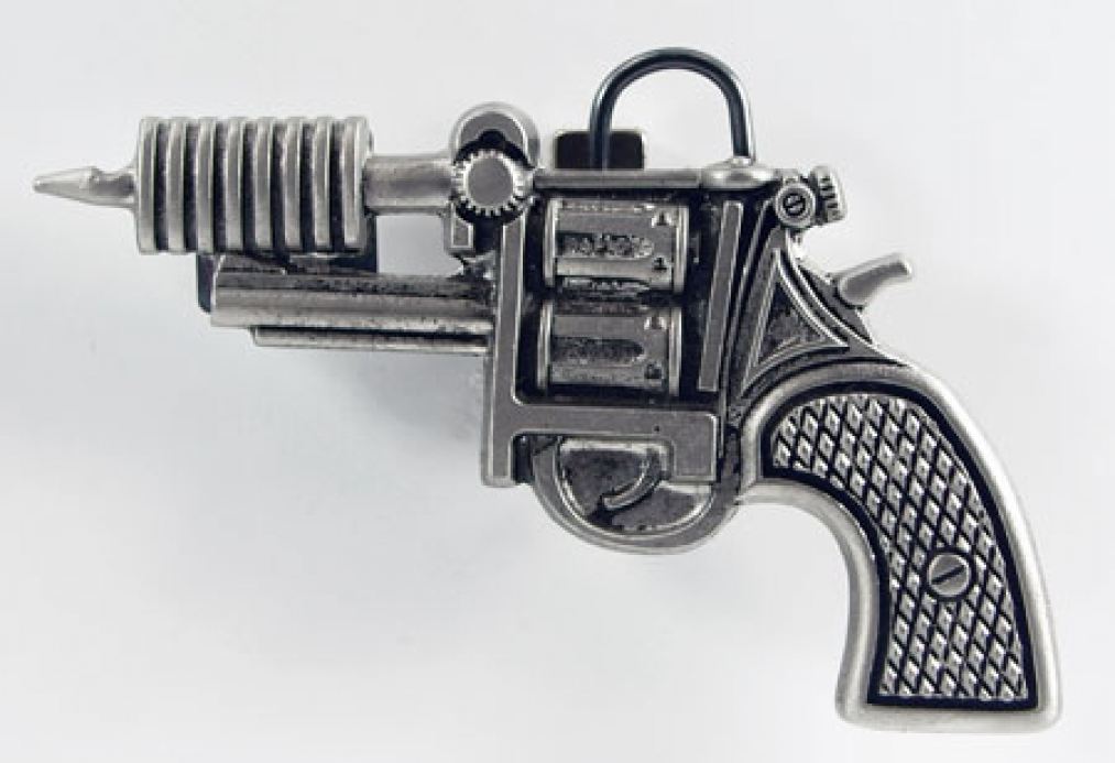 Tattoo Buckle Revolver, Tattoo Gun, Gürtelschnalle