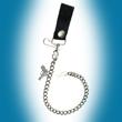 Schlüsselkette, Geldbeutelkette, Gürtelkette, Pistole