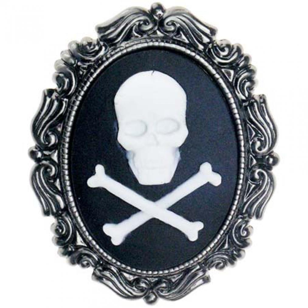 Brosche  Brosche Davey Jones | Pirat | Totenkopf | Skull | Kamee | eBay